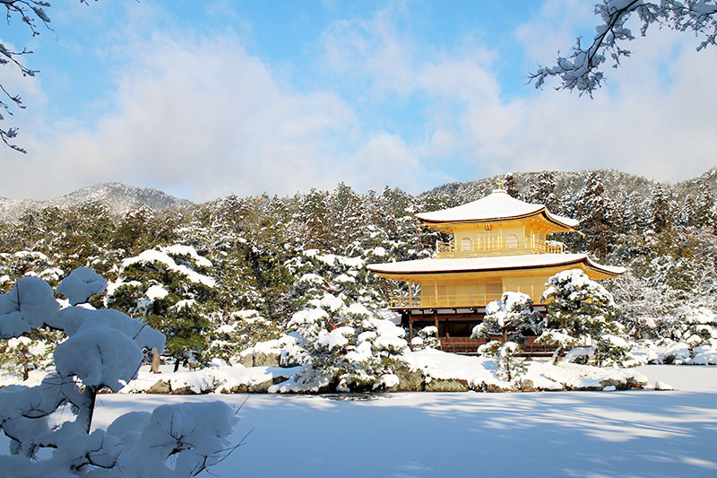 Kyoto in Snow