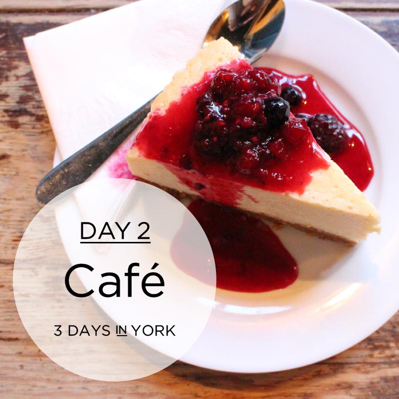 York Day 2: Café