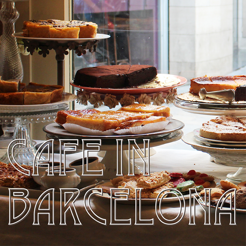 Cafe in Gothic area, Barcelona
